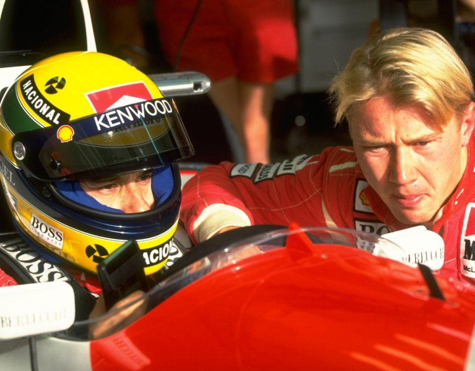 F1 Speaker Mika Hakkinen